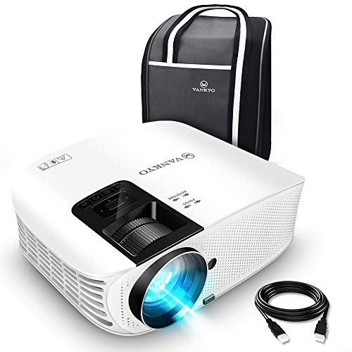 VANKYO Leisure 510 Full HD Movie Projector with 3600 Lux, Video Projector with 200