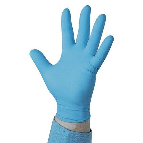 Kleenguard KCC-57371 G10 Nitrile Gloves, Small, Blue (Pack of 100 Gloves)