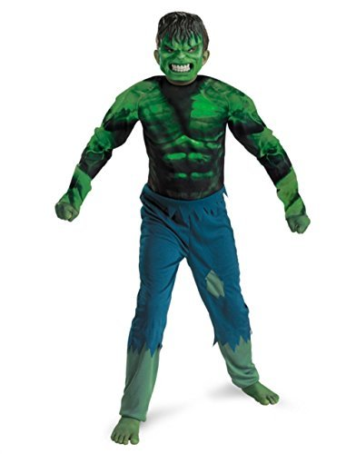 Disguise Marvel Hulk Classic Boys Costume, Large/10-12 -