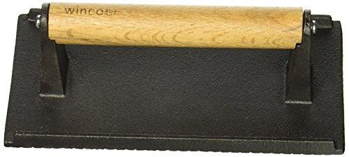 - Winco SWA-2 Cast Iron Steak Weight, 4.25-Inch by 8.25-Inch