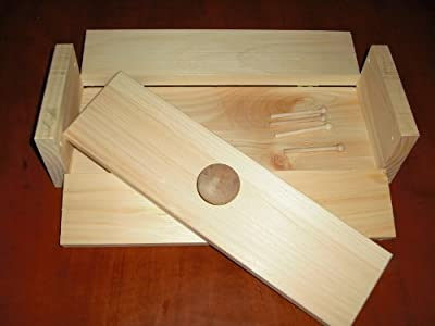 2 Wooden Soap Molds to Make 4-5 Lb Loaf Colapsable by Toughtimbers