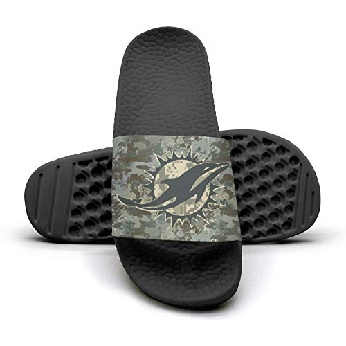 Mens Camouflage Camo Printed Non-slip Slipper Slides Flip Flop Sandals Summer Comfortable For Football Fans