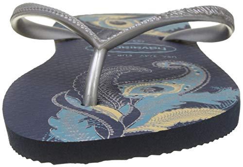Flip Sandal silver Havaianas Navy Women's Slim Organic Flop 4qT8Fzw