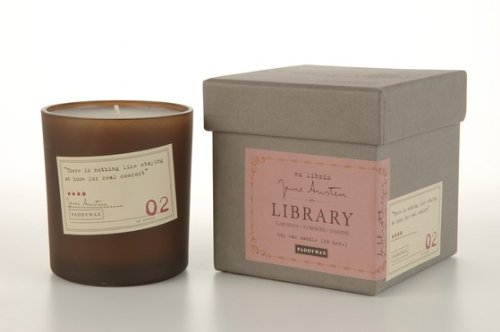 Paddywax Library Soy Wax Candle Jane Austen