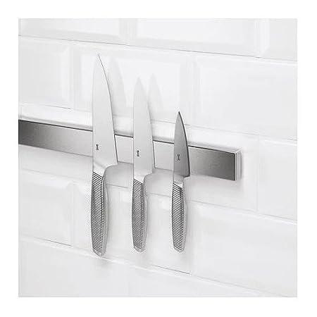 Ikea Kungsfors porta cuchillos magnético 56 cm acero ...