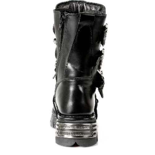 391 Stile Rock New Reactor S1 Unisex NEWROCK Nero Stivali tIHqB