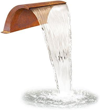 Primrose 30cm Gebogene Wasserfallklinge aus Cortenstahl