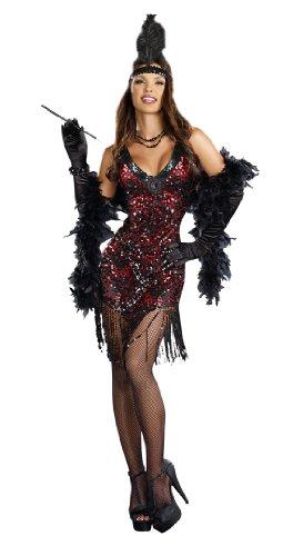 Dreamgirl Dames Like Us, Black, (Dress Like A Diva For Halloween)