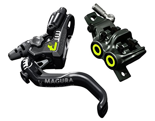 Magura USA MT7 Next HC Disc Brake Black/Neon Yellow, Flip Flop (Best Downhill Disc Brakes)