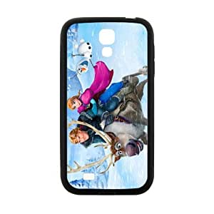 Happy Frozen Princess Anna Kristoff Olaf Sven Cell Phone Case for Samsung Galaxy S4