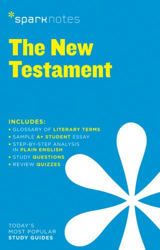 new-testament-sparknotes-literature-guide-sparknotes-literature-guide-series