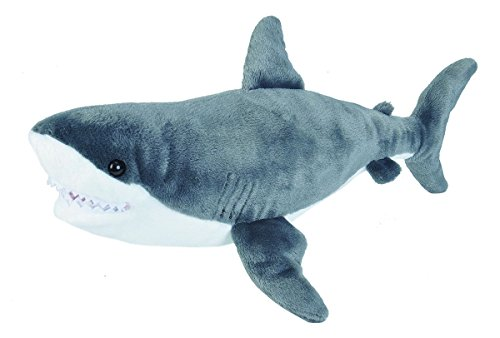 Wild Republic AQ Shark Great White Adult 15 Plush