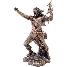 Zeus Statue - King of the Gods - Greek Mythology ! - Ships Immediatly