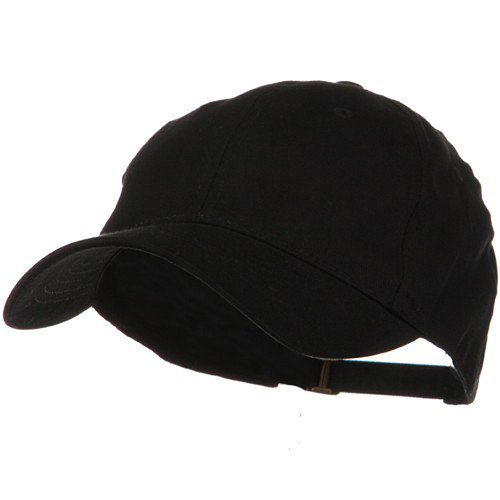 Low Profile Light Weight Brushed Cap - Black OSFM