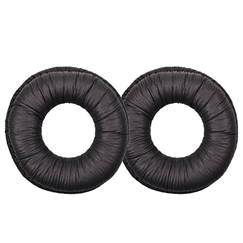 Cosmos 1 Pair Black Color Replacement Earpad Ear Pad Cushion for Sony MDR-V150,MDR-V250V and MDR-V300 Headphones