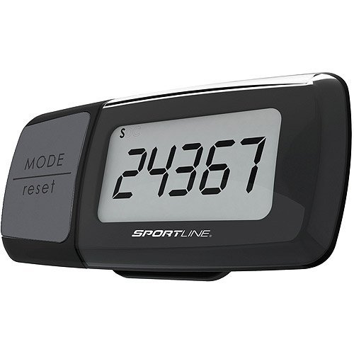 Sportline Triple Function Calorie Counting Pedometer, Black by Sportline