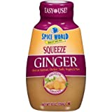 Spice World Squeezeable Premium Ground Ginger, 10 Ounces (2 Pack)