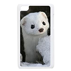 FLYBAI Cute Weasel Phone Case For Ipod Touch 4 [Pattern-3]