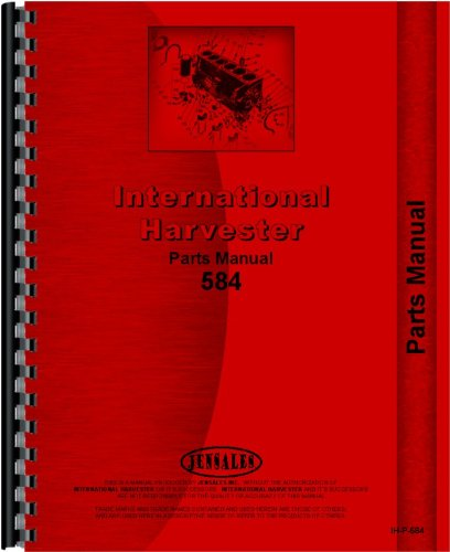 International Harvester 584 Tractor Parts Manual from Jensales
