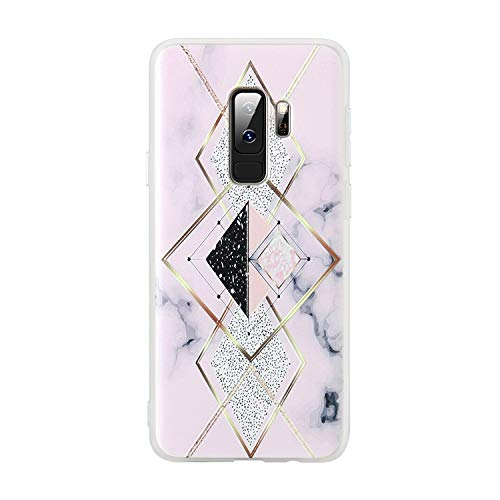 3D Matte Case for Samsung Galaxy Note 9 8 S9 S8 Plus S7 Soft TPU Marble Phone Cases for Sumsung A5 A3 J5 J3 2017 Coque,2,S9 (Note 4 Case Spongebob)