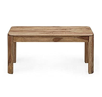@home by Nilkamal Miracle Dining Bench (Natural Walnut)