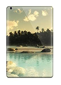 Julian B. Mathis's Shop Best Hot Case Cover Protector For Ipad Mini 3- Aqua Blue 8079848K32274272