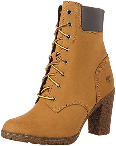 Amarillo 6In Botas TimberlandEk Mujer Wheat Glancy wBanIqAf