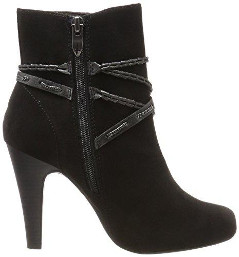 black Noir Femme Tamaris Bottes 25904 qYwSx84