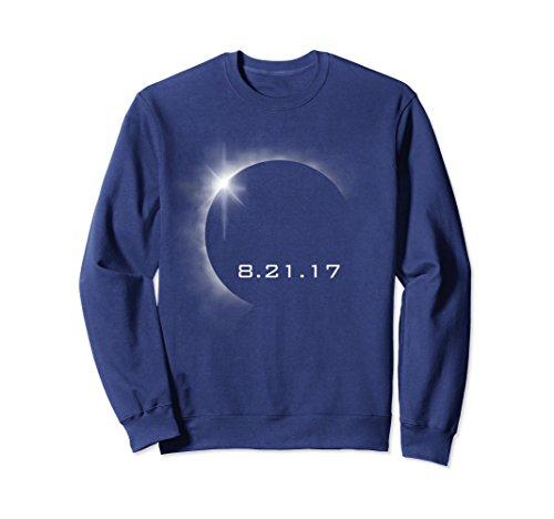 Unisex Total Solar Eclipse Summer August 21st 2017 Sweatshirt Large Navy