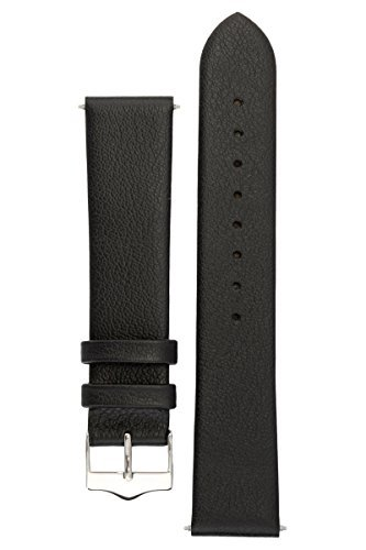signature-easy-in-black-18-mm-watch-band-replacement-watch-strap-genuine-leather-silver-buckle