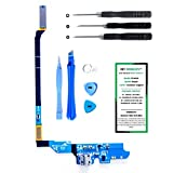 Samsung Galaxy S4 I337- (AT&T) Charge Port Flex Cable Connector Replacement Kit with DM Tools and Instructions Included - DIYMOBILITY