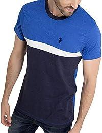 Black Mallet Mens Burnout Camo Print Short Sleeve T-Shirt