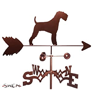 SWEN Products Hand Made Airedale Dog Garden Stake Weathervane ~New~ 1