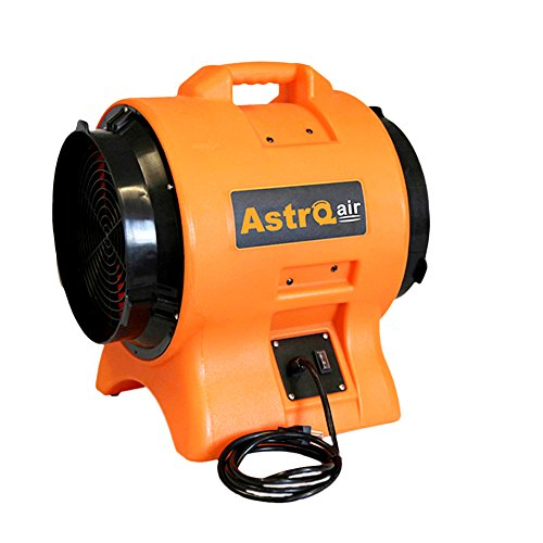 (Astro Air 681-AT110 1 hp Home Indoor Portable Axial Fan, 12