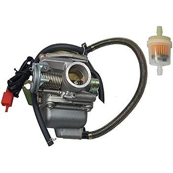 Amazon.com: Monster Motion 150cc Carburetor for Baja 150 (BA150) ATV on kazuma 150cc wiring-diagram, gy6 dune buggy wiring-diagram, 150cc gy6 harness diagram, yerf dog spiderbox wiring-diagram, baja dune 150cc wiring-diagram, 150cc scooter carb diagram, 150cc gy6 motor wiring, 150cc scooter engine diagram, carter talon wiring-diagram, 150cc quad wiring-diagram, roketa buggy wiring-diagram, 150cc scooter wiring diagram, chinese gy6 wiring-diagram, tao tao wiring-diagram,