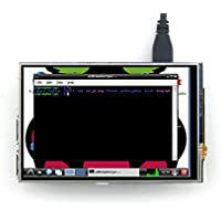 Touch Screen TFT LCD Display Monitor,4 Inch Wide View Angle HDMI Display Monitor for Raspberry Pi Model B B+