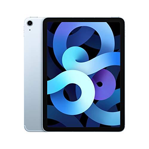 2020 Apple iPadAir (10.9-inch, Wi-Fi + Cellular, 64GB) – Sky Blue (4th Generation)