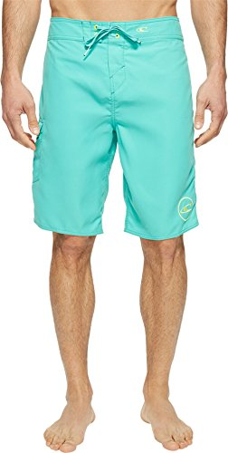 O'Neill Men's Santa Cruz Solid 2.0 Boardshorts Aqua 29