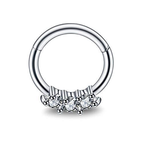 gem septum ring - 7