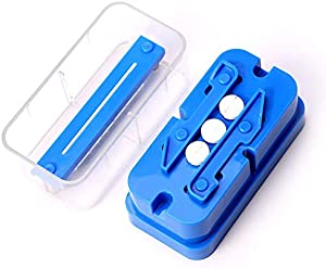 Multiple Pill Splitter Cutter - Stainless Steel Cutting Blade and Blade Guard, Accurate Even Cut for Splitting and Quartering Round or Oblong Pills