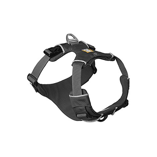 (RUFFWEAR - Front Range, Everyday No Pull Dog Harness with Front Clip, Trail Running, Walking, Hiking, All-Day Wear, Twilight Gray, Small)