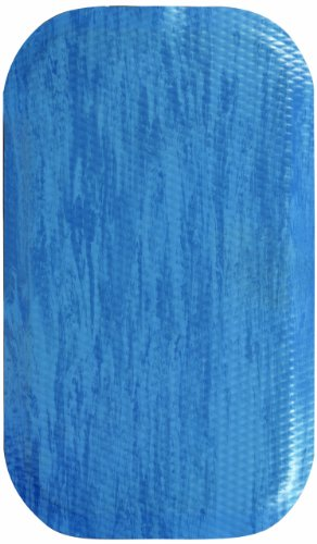 M+A Matting 448 Blue Merle Nitrile Rubber Hog Heaven Anti-Fatigue Mat, Marble Top, 3' Length x 2' Width x 5/8'' Thick, For Indoor by M+A Matting (Image #1)