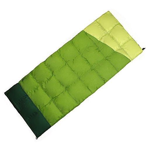 2016新しい012 C Light Down Sleepingバッグ、暖かいKeeping、便利なストレージ0 ~ 20度 B01IGYIADU  グリーン