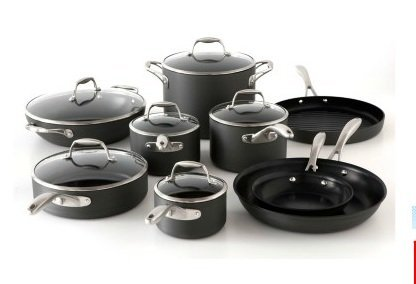 Tramontina 15pc Hard Anodized Cookware