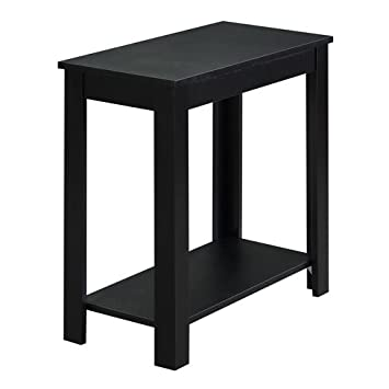 Convenience Concepts Designs2Go Baja Chairside End Table, Black