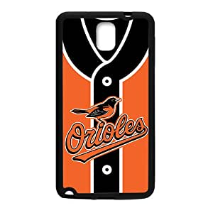 MLB Baltimore Orioles Black Phone Case for Samsung note3