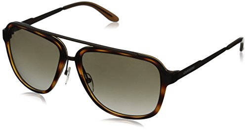 Carrera CA97S Aviator Sunglasses, Havana Brown & Brown Gradient, 57 - Carrera Havana