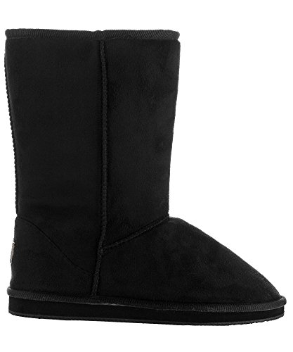 Product image of RF ROOM OF FASHION Women's Vegan Shearling Fur Lined Hidden Pocket Mid-Calf Winter Boots