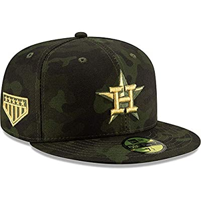 New Era Houston Astros 2019 MLB Armed Forces Day On-Field 59FIFTY Fitted Hat - Camo