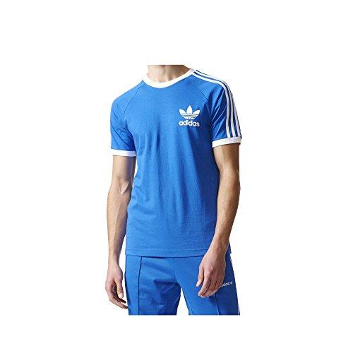 adidas Originals Men's California Tee, Blue, Medium
